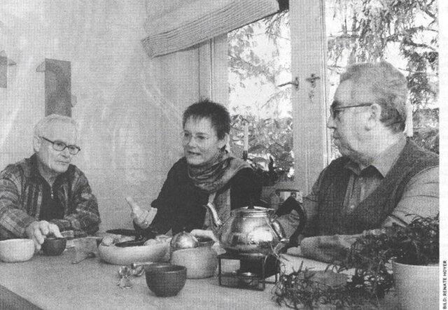 Eberhard Laeuen (links), Angelika Rieber und Helmut Lind wollen nicht, dass Hitler und die Nazi-Diktatur vergessen werden.