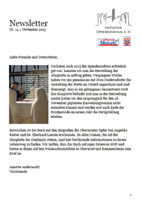 Newsletter 14 Titelblatt