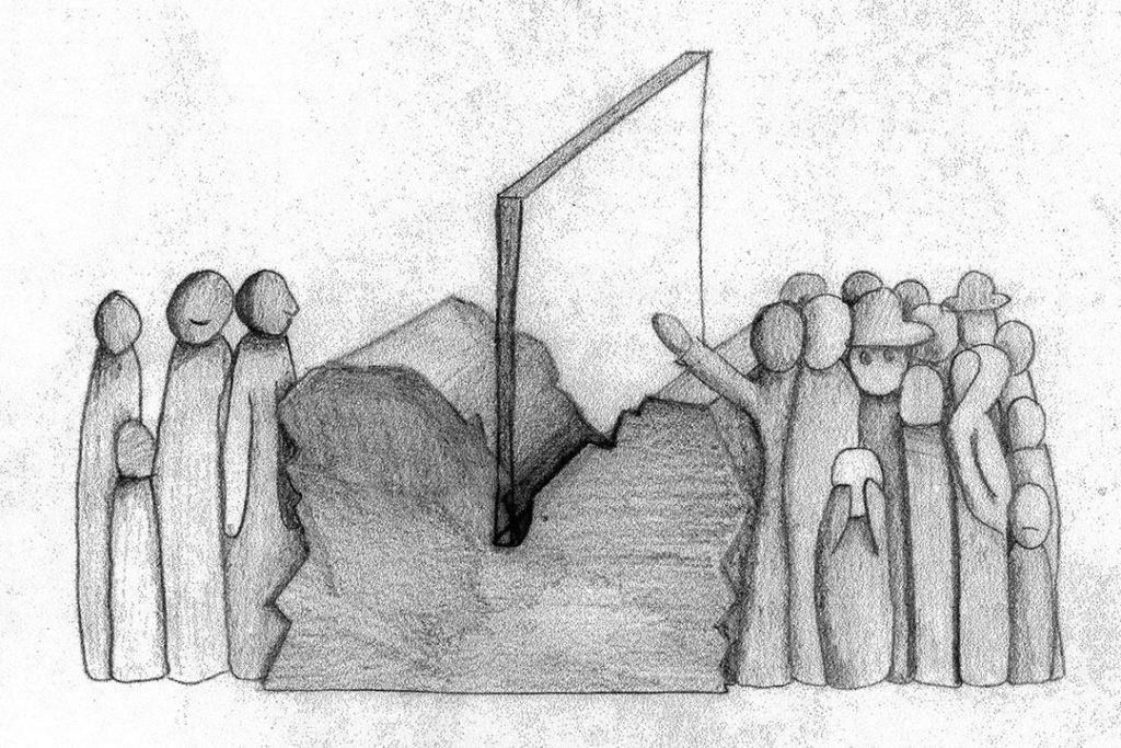 Эскиз памятникa
