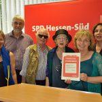 Ehrenamtspreis der SPD Hessen-Süd 2013