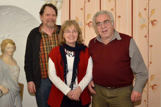 Der Vorstand wurde im Amt bestätigt: (vlnr) Jo Krahl, Annette Andernacht. Foto: Uwe Seemann