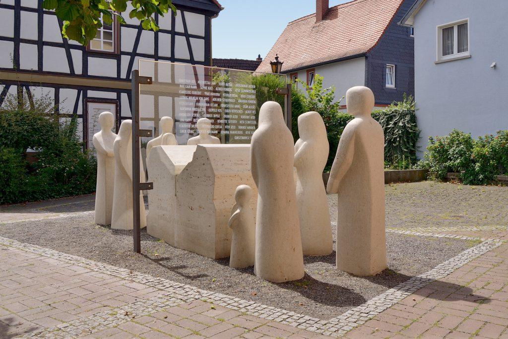 Opferdenkmal Oberursel, 2016. Foto: Uwe Seemann