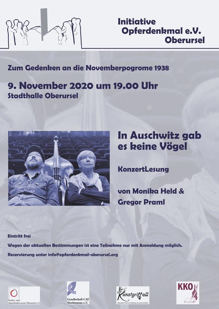 Flyer 9. November 2020 Vorderseite